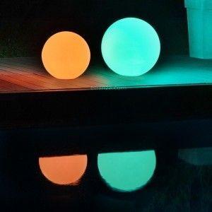 AC-Déco Sphère Déco Lumineuse LED 40cm Multicolore