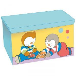 Jemini Coffre à jouets pliable T'choupi