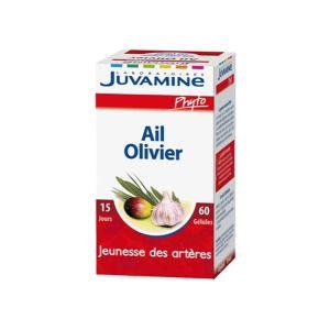 Juvamine Phyto - Ail-Olivier Jeunesse des Artères 30 gélules