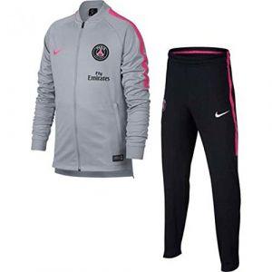Nike Survêtement de football Paris Saint-Germain Dri-FIT Squad pour Enfant plus âgé - Gris - Taille M
