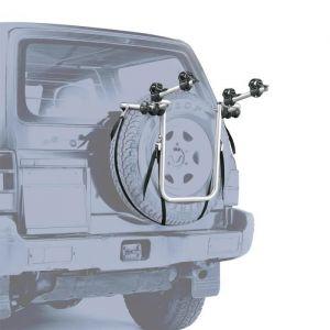 Peruzzo Porte Vélo 4x4 Bike Carrier - Se fixe sur la roue arrière - Pour le transport de 2 vélos