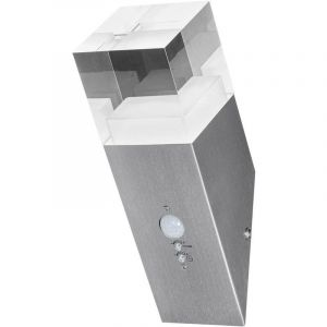Ledvance Applique LED extérieure avec détecteur de mouvement Endura Style Cube Crystal Sensor 4058075474192 LED intégr