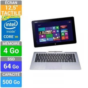 """Asus T300FA-FE001H 64 Go - Tablette tactile 12.5"""" sous Windows 8.1 64 bits avec clavier dock 500 Go"""
