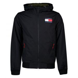 Tommy Jeans DM0DM07120 Padded Nylon Vestes ET Blousons Homme Black XL