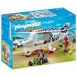 Playmobil 6938 Wild Life - Avion avec explorateurs
