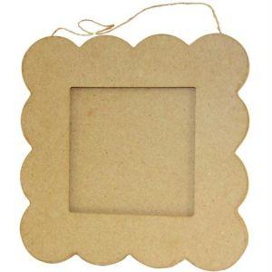 decopatch Cadre petit beurre - papier mâché - 20 cm
