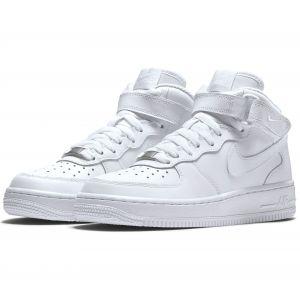 Nike Chaussure Air Force 1 06 mi-montante pour Garçon - Blanc - Taille 39 - Unisex
