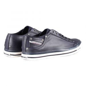 Diesel Magnete Exposure Low I-Sneaker, Sneakers Basses Homme, Bleu (T6065-Blue Nights Pr052), 40 EU