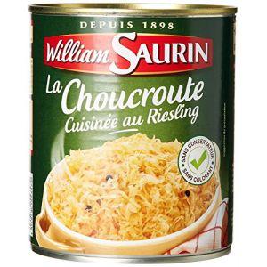 William Saurin Choucroute Cuisinée au Riesling 810 g - Lot de 6