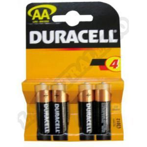 Duracell 4 piles alcalines C LR14 Plus Power