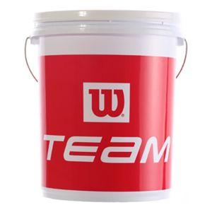 Wilson Baril pour Balles, Ball Bucket, Plastique, Jaune, X4380