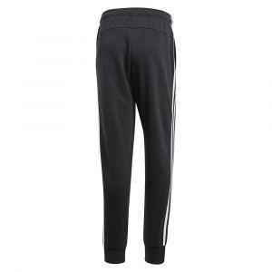 Adidas Essentials 3-Streifen Tapered Cuffed Hose - Pantalon de jogging taille S, noir