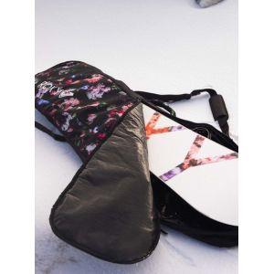 Roxy 102L-Sac Sac de Transport pour Snowboard Femme, True Black Blooming Party, FR Unique (Taille Fabricant : 1SZ)
