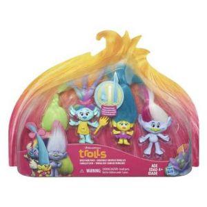Hasbro 4 figurines Trolls (modèle aléatoire)