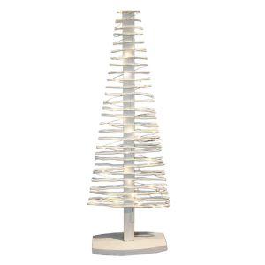 Blachère illumination Arbre de Noël lumineux en bois (100 cm)