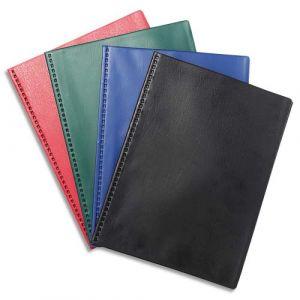 Exacompta Lot de 5 protège-documents PVC - 100 vues - vega opaque - A4 - Couleurs assorties - 88520E