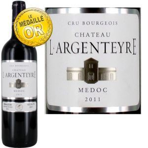 Château L'Argenteyre 2011 - Vin rouge Cru Bourgeois (AOC Médoc)