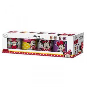4 mugs Minnie Mouse