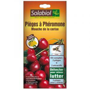 Solabiol Mouche de la cerise : Piège à phéromone - 2 pièges