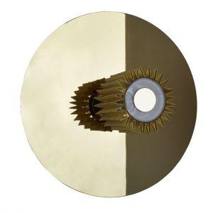 Sun Applique In the Large / Plafonnier - Ø 38 cm - DCW éditions or,doré en métal