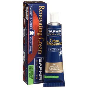 Saphir Crème rénovatrice 25 mL - or pâle