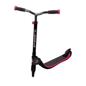 Globber Trottinette Flow 125 Foldable - Enfant fille - Noir et rose