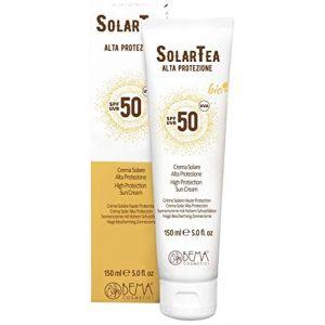 Bema Cosmetici SolarTea Crema Solare SPF50 - Crème solaire haute protection