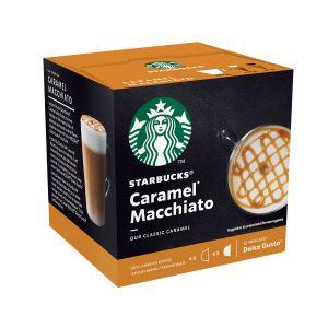 Nescafe Caramel Macchiato Starbucks - La boîte de 12 capsules