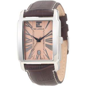 Ted Lapidus 5116701 - Montre pour homme avec bracelet en cuir