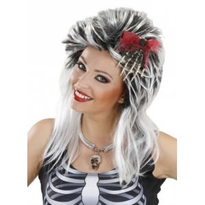 Coiffe main squelette adulte Halloween