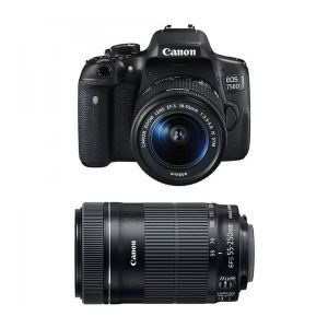 Canon EOS 750D (avec 2 objectifs 18-55mm et 55-250mm)