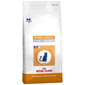 Royal Canin Chat Veterinary Care Nutrition Senior Consult Stage 1 Balance - Sac 10 kg