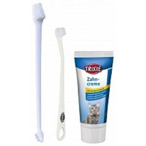 Trixie Trousse de soins dentaires pour chat Par trousse