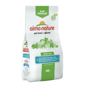 Almo Nature Chat Anti Hairball Poisson et pommes de terre 400 grs