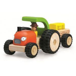 Wonderworld Tracteur de la ferme Mini