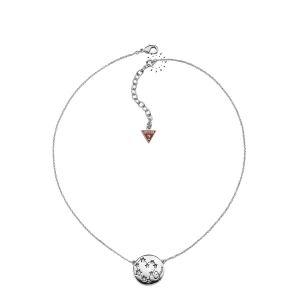Guess UBN31313 - Collier pour femme en métal rhodié
