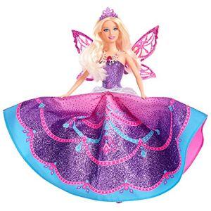 Mattel Barbie princesse Mariposa aux ailes de cristal