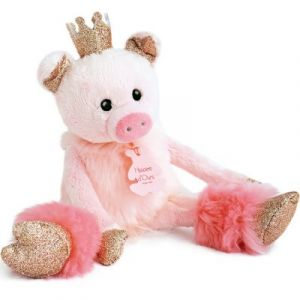 Histoire d'ours Cochon rosette Les petits twist 25cm HO2843 Rose - Taille Taille Unique