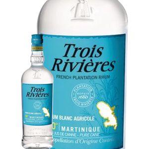 Trois rivières Rhum blanc 50% vol. Aoc martinique - La bouteille de 100cl