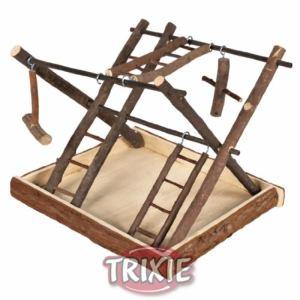 Trixie Aire de jeu en bois naturel pour rongeur