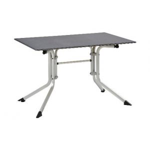 Kettler Kettalux plus - Table de jardin rectangulaire pliable 160 x 95 x 74 cm