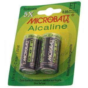 Microbatt Blister de 2 piles LR14