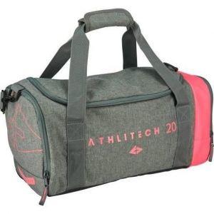 Athli-tech Sac de sport I-Zy Flex Bag 20 - Gris et rose