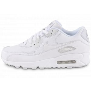 on sale 16869 999f8 Nike AIR MAX 90 LEATHER - Baskets - blanc