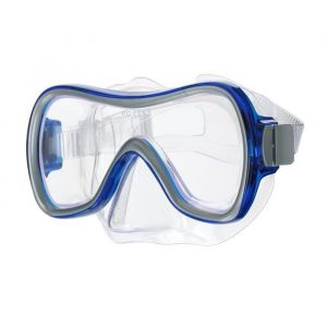 Masque plongee mask aqualook large bleu