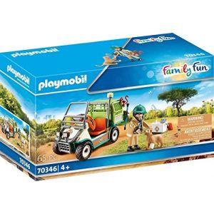 Playmobil Vétérinaire et véhicule tout terrain Family Fun 70346