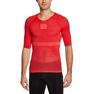 Compressport On/Off Multisport Shirt S/s Red
