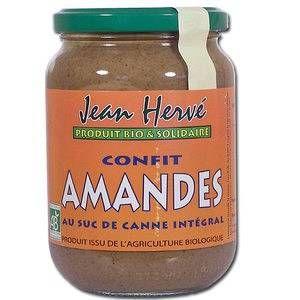 Jean Hervé Confit d'Amandes bio au Suc de Canne 360g