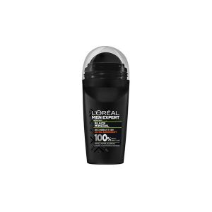 L'Oréal Men Expert Black Mineral - Déodorant roll-on 48h ultra-absorbant