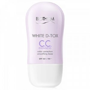 Biotherm White D-Tox CC. Evenness - Base lissante correctrice